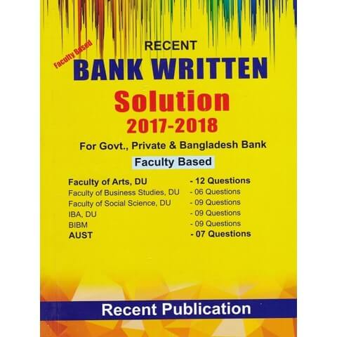 Faculty Based Bank Written Solution