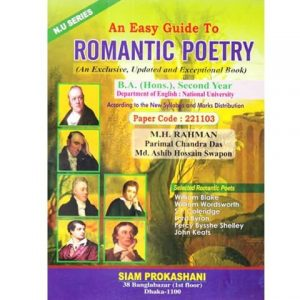 An Easy Guide to Romantic Poetry
